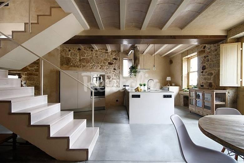 Apartamento para 7 personas en lagareiros lagareiros for Houzz cucine