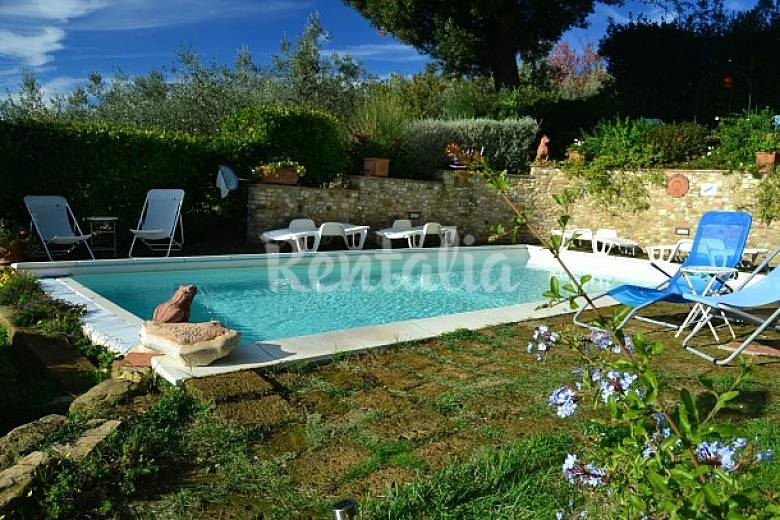 Appartement voor 5 personen in magliano magliano tavarnelle val di pesa florence chianti - Houten toren zwembad ...
