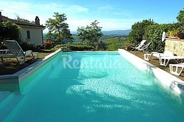 Appartement voor 3 personen in florence magliano tavarnelle val di pesa florence chianti - Houten toren zwembad ...