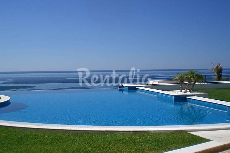 Luxury villa with breathtaking pool over the ocean Algarve-Faro