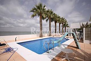 Villa with 5 bedrooms on the beach front line Murcia