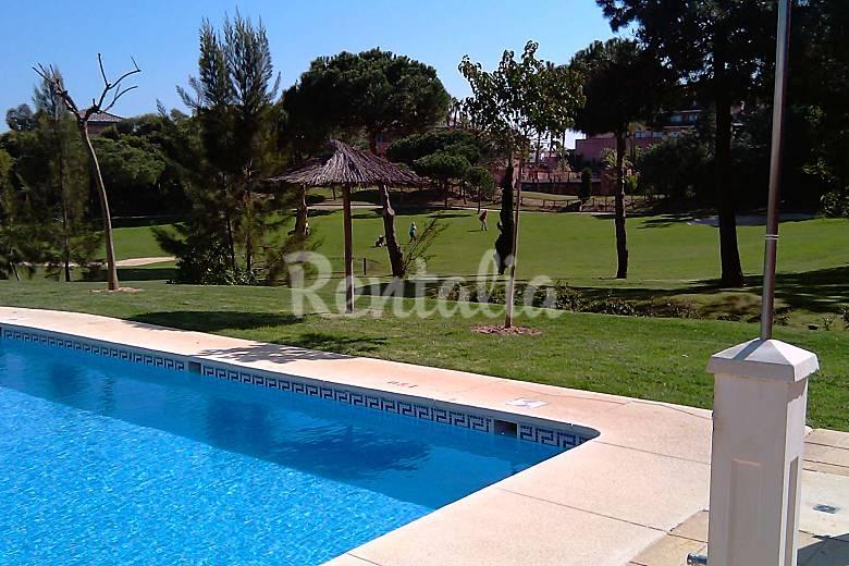 casa de golf y playa con piscinas islantilla i cristina