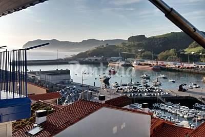 Apartamento con vistas al puerto, al mar y al mo Vizcaya/Bizkaia