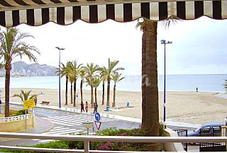 Apartment for 6 people only 30 meters from the beach Alicante