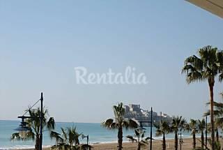 Apartamento en primera línea de playa en Peñiscola Castellón