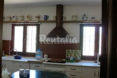 Villa Cocina Almería Níjar Villa en entorno rural