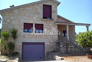 Villa pour 8 personnes à 5 km de la plage Pontevedra