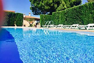 Villa con piscina privada y barbacoa Castellón