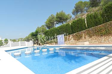 Casa de vacaciones fedor calpe calp alicante costa blanca for Piscinas calpe
