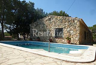 holiday house town port estany with swimming pool Tarragona