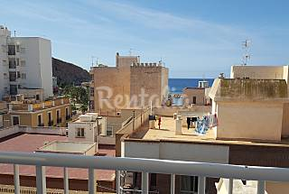 Apartment for 4 people only 80 meters from the beach Murcia