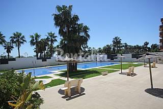 Appartement pour 4-6 personnes à 25 m de la plage Castellón