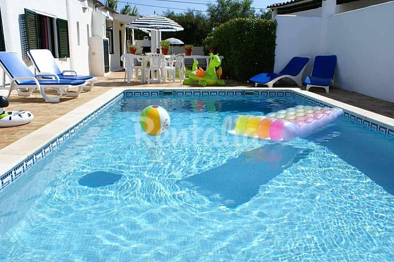 Casa para 4-5 personas a 1500 m de la playa Algarve-Faro