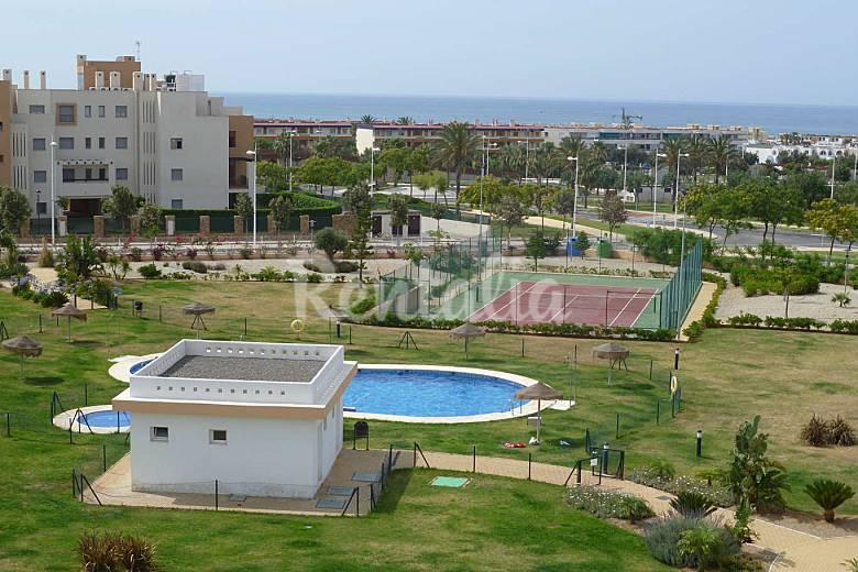 Atico en toyo cabo gata piscina gran terraza wifi - Piscina terraza atico ...