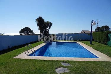 14 apartamentos en alquiler con piscina sanxenxo sanxenxo sangenjo pontevedra ruta del - Apartamentos en portonovo con piscina ...
