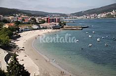 Apartamento para 4 personas en 1a línea de playa A Coruña/La Coruña
