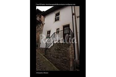 Huis voor 5 personen op 240 meter van het strand lastres colunga asturias comarca de la sidra - Huis van kind buiten ...