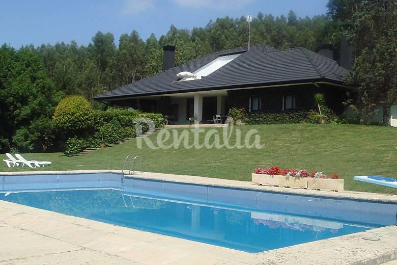 Villa de 6 habitaciones a 7 km de la playa mendiondo - Piscinas de sopelana ...