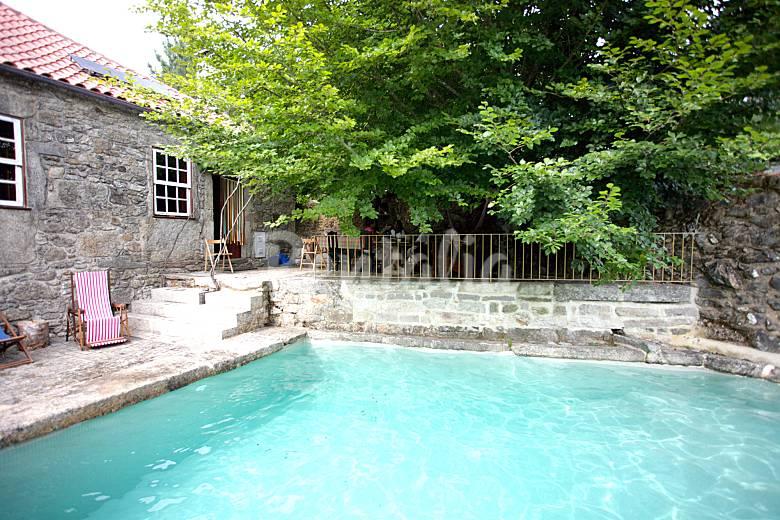 Casa de campo para 10 personas con piscina romarig es - Piscina casa de campo ...