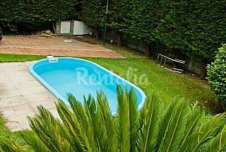 Casa,jardín,piscina,rural,playa, 2 habitaciones A Coruña/La Coruña