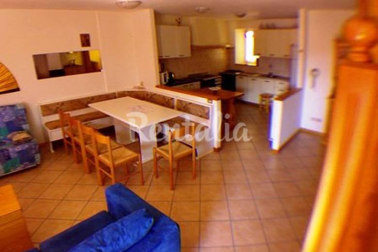 Casa Dining-room Trentino Panchià Apartment