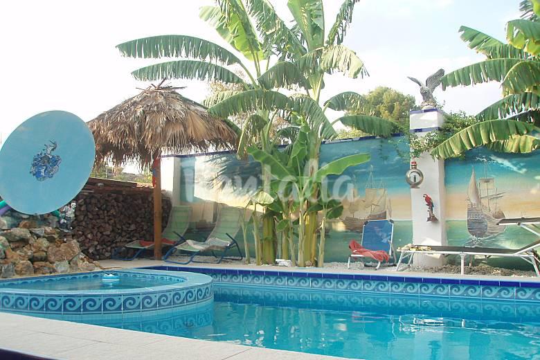2 huis met zwembad la alcoraya alicante alacant alicante costa blanca - Huis design met zwembad ...