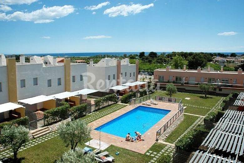 pessoas, com piscina e jardim  Creixell (Tarragona) Costa Dorada