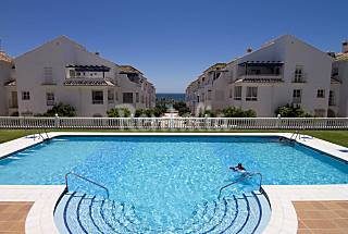 Apartment for 4 people only 100m from the beach Málaga