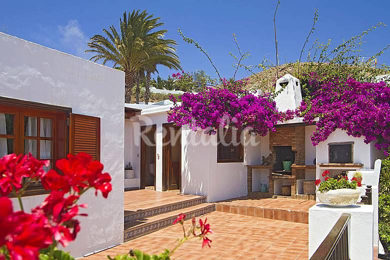 Villa Outdoors Lanzarote Teguise Countryside villa