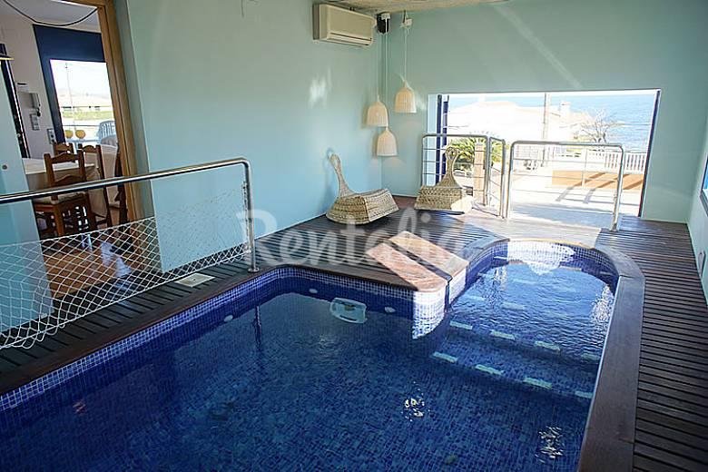 Casa con piscina interior con vistas al mar cap de vol el port de la selva girona gerona - Casa rural piscina interior ...