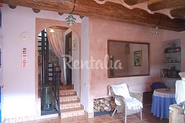 La Interior del aloj. Teruel Tormón Casa en entorno rural