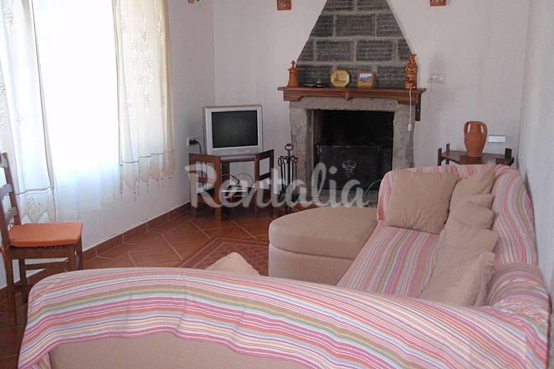 House Living-room São Miguel Island Ponta Delgada Countryside villa
