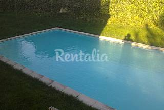 House for rent with swimming pool Rioja (La)