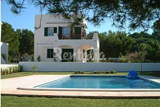 Charming house with garden only 250m from beach Minorca