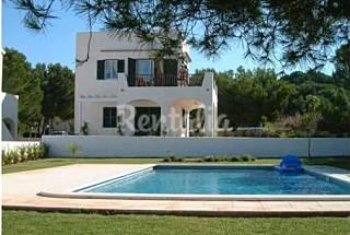 Precioso chalet con jardin y piscina a 250m playa Menorca