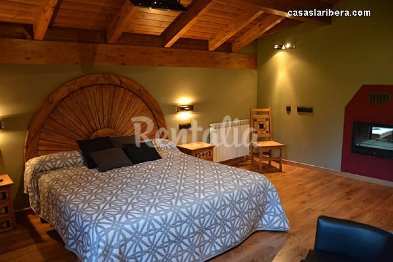Casas Bedroom Huesca Puértolas Cottage