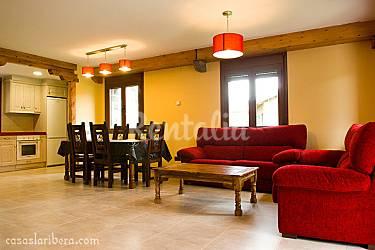 Casas Living-room Huesca Puértolas Cottage