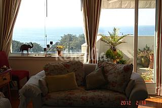 Sea view, 100 m from beach, 3 km from Oporto Porto