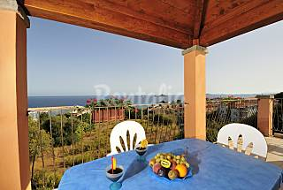 4 Apartments with sea view terrace at 350m Ogliastra