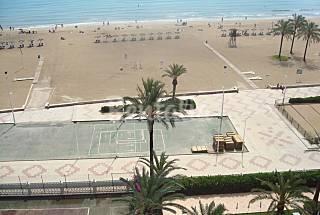 Apartamento Alquiler 1a línea de playa Valencia