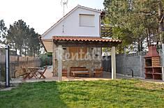 Chalet com 3 quartos a 500 m da praia Pontevedra