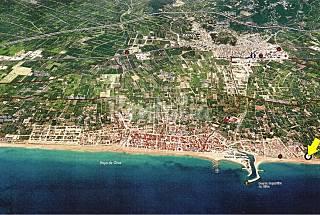 Vivienda en primera linea playa Oliva Valencia