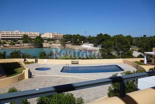 Apartment for 5 people on the beach front line Ibiza