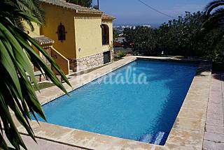 Villa 4 dorm 1500 m playa.Piscina 9 adultos Alicante