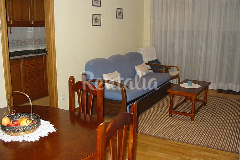 2 Living-room Lerida Vielha e Mijaran Apartment