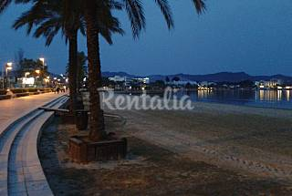 Apartment for 2-4 people on the beach front line Ibiza