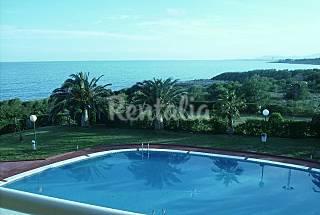 Apartamento de 2 habitaciones en 1a línea de playa Castellón