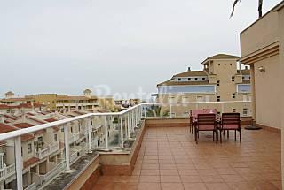 Semi-ático de 3 habitaciones a 300 m de la playa Huelva