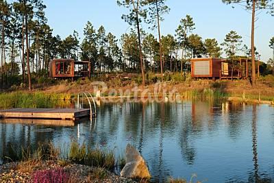 Alojamentos no Cocoon Eco Design Lodges Setúbal