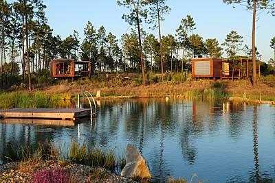 Localización excelente en Cocoon Eco Design Lodges Setúbal